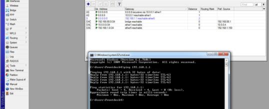 Mikrotik WAN failover setup