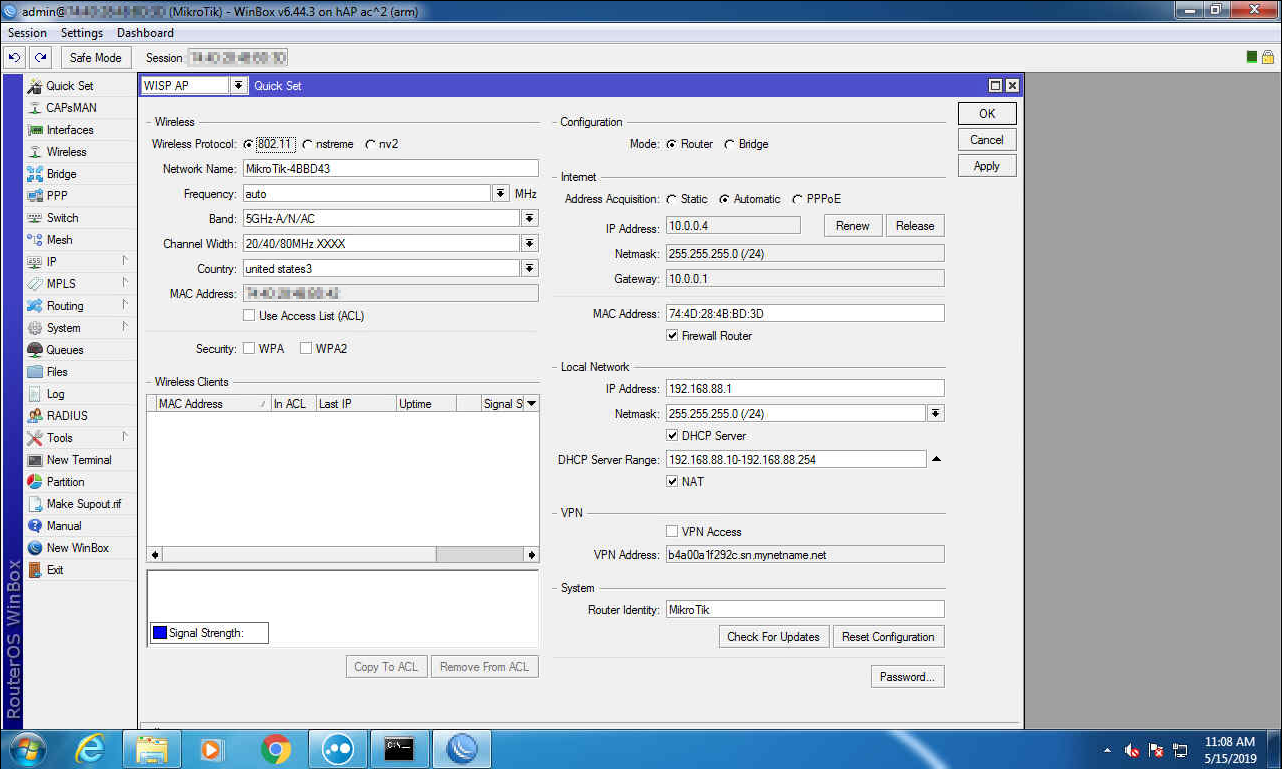 Mikrotik WAN failover setup – Qtech System